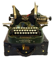 Puyallup-Antique-District-Typewriter-472